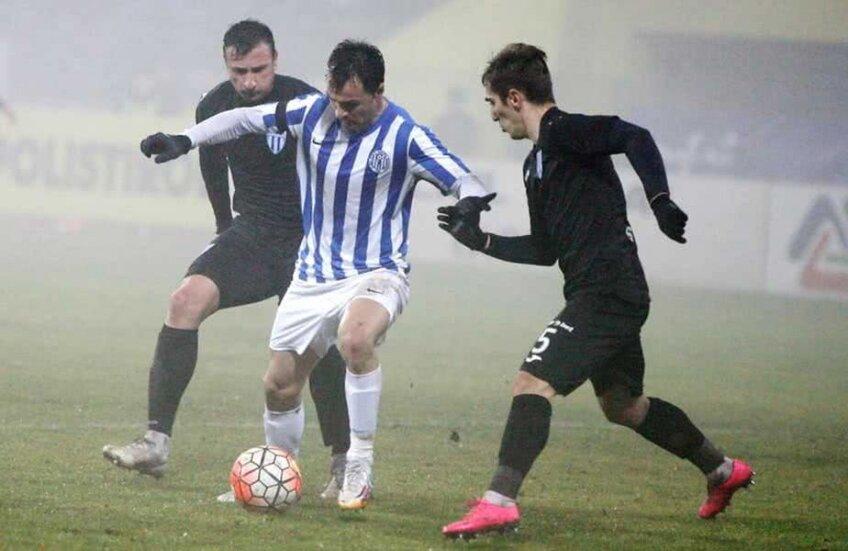 Vasile Gheorghe, la minge