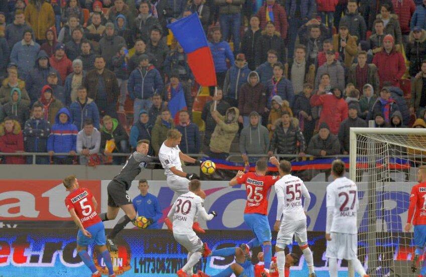 11.800 de fani au asistat la duelul dintre FCSB și CFR Cluj // FOTO: Cristi Preda