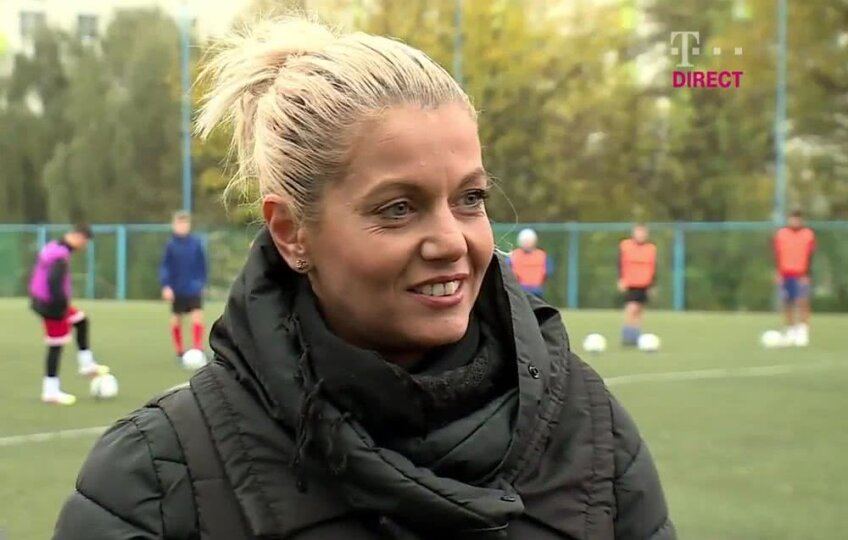 Lorena Balaci, captură Telekom TV