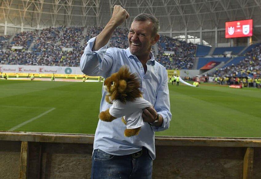 Gică Craioveanu, pe noul stadion