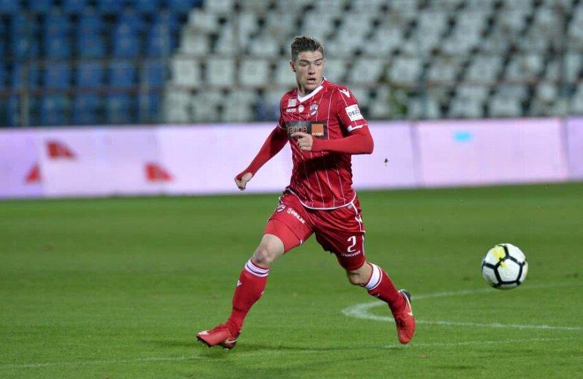 Kino Delorge a strâns doar 5 meciuri în tricoul lui Dinamo // FOTO: GSP