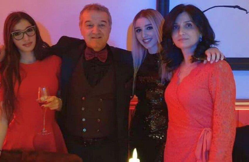 Gigi Becali și familia lui