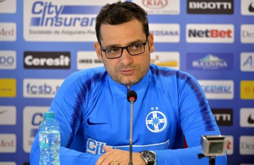 Mihai Teja a fost numit la FCSB după demiterea lui Nicolae Dică
