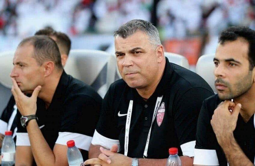 Cosmin Olăroiu este foarte respectat în zona arabă, unde a pregătit cu succes mai multe echipe