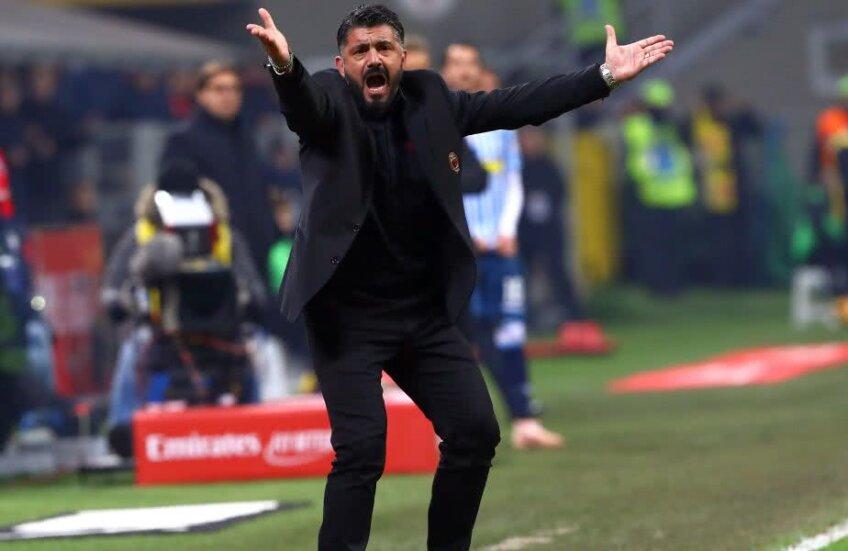 Gattuso speră să-l poată folosi pe Higuaín și în Supercupa Italiei cu Juventus, pe 19 ianuarie Foto: Guliver/Getty Images