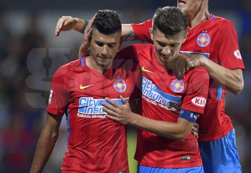 Florin Tănase și Florinel Coman sunt doi dintre cei mai eficienți jucători din lotul lui Teja