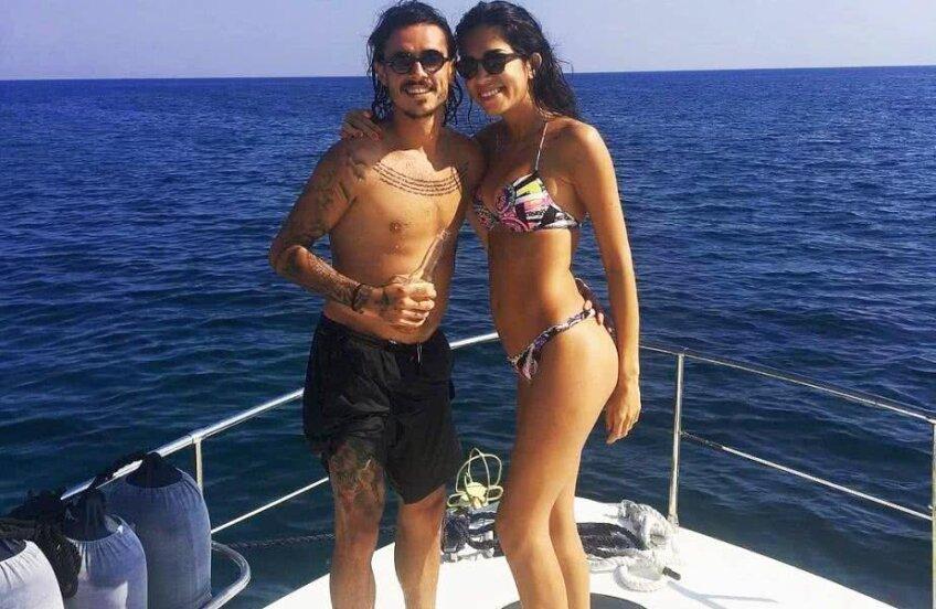 Adrian Stoian și Daniela iubesc marea