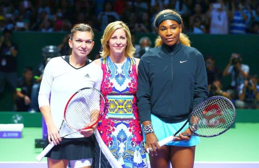 Simona Halep și Serena Williams într-o întâlnire directă // Foto: Guliver/GettyImages