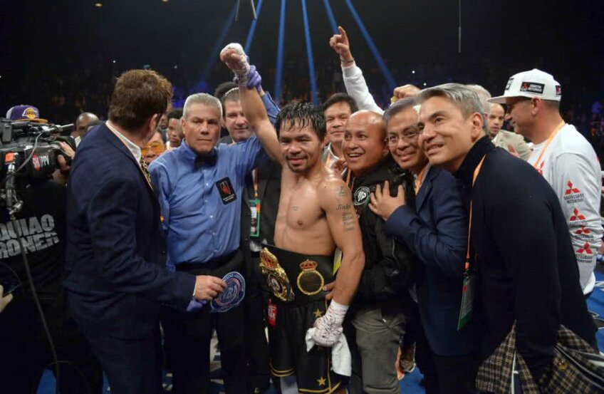 Manny Pacquiao - Adrian Broner // FOTO: Reuters