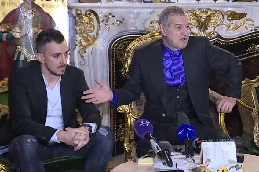 Gigi Becali și Ioan Hora // FOTO: Captură TV Telekom Sport