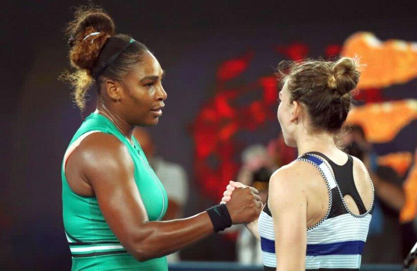 Serena Williams - Simona Halep // FOTO: Reuters