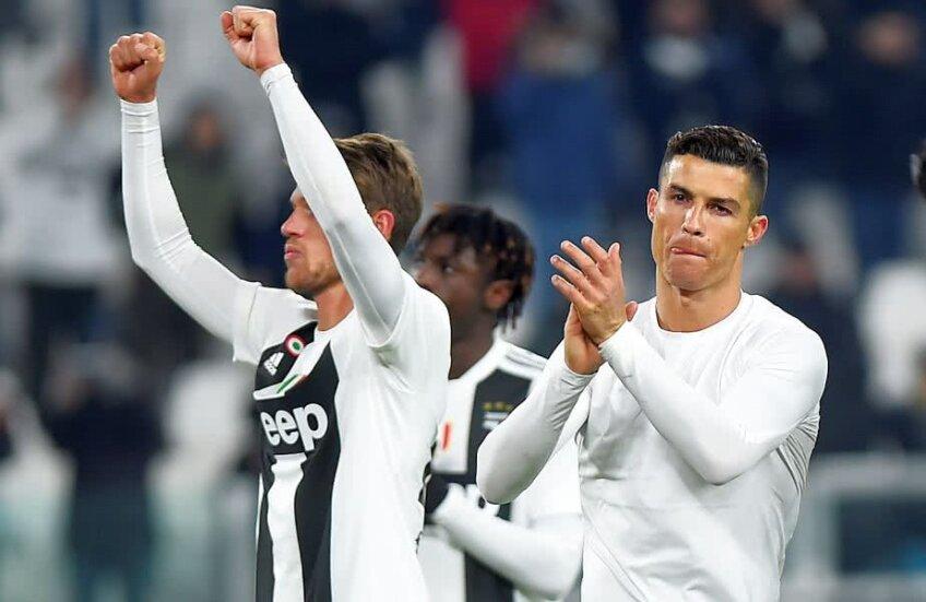Cristiano Ronaldo nu a fost prea fericit la finalul meciului Juventus - Chievo 3-0 // FOTO: Reuters