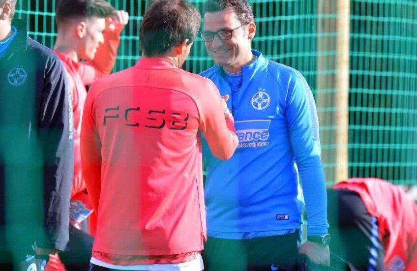 Filipe Teixeira și Mihai Teja, în cantonamentul FCSB-ului