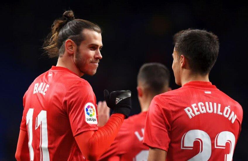 Gareth Bale şi Sergio Reguilon sau imaginea a două generaţii complet diferite // FOTO: Guliver/Getty Images