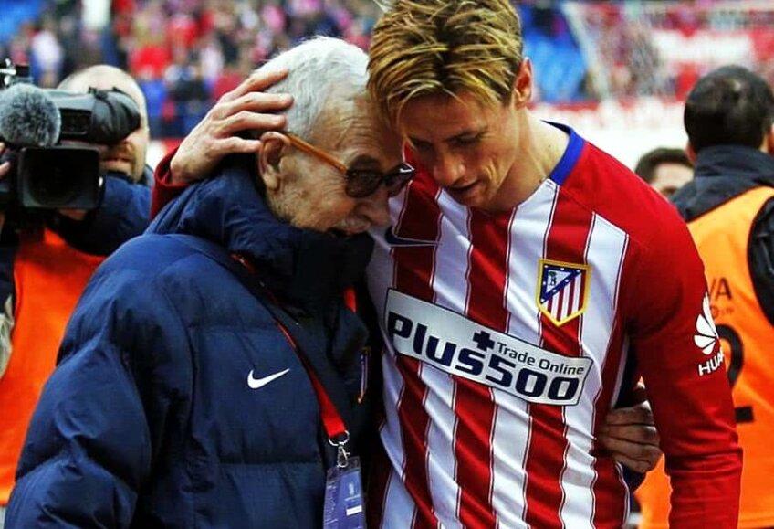 Manuel Briñas, alături de Fernando Torres