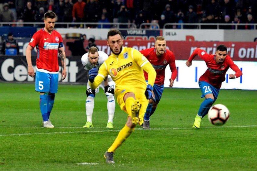 Mirko Pigliacelli este cel de-al 27-lea portar care a marcat cel puțin un gol într-un meci oficial din Liga 1
