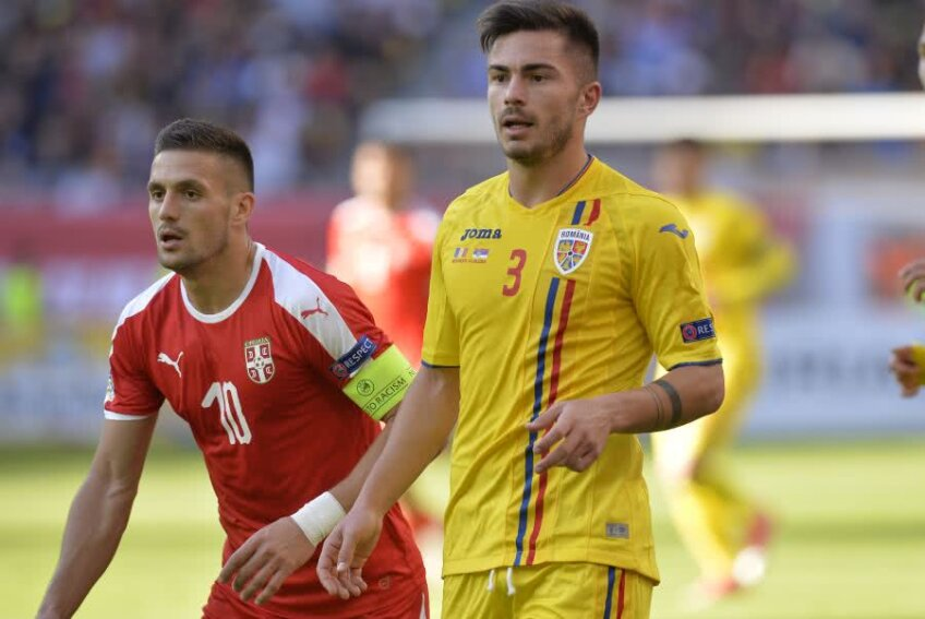 Dusan Tadic în duel cu Alin Toșca FOTO: Cristi Preda