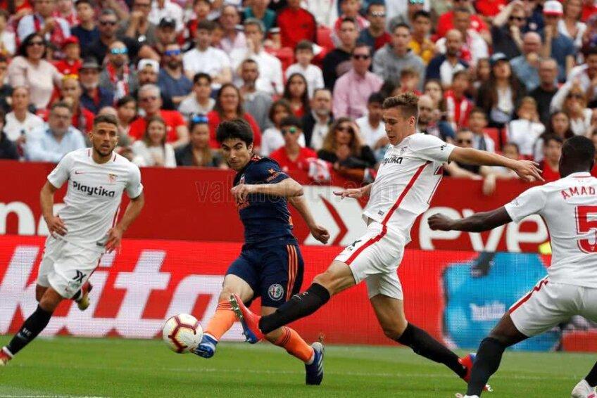 FC Sevilla - Valencia 0-1 // FOTO: Twitter Valencia