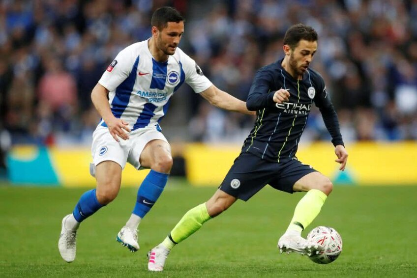 Manchester City - Brighton 1-0 // FOTO: Reuters