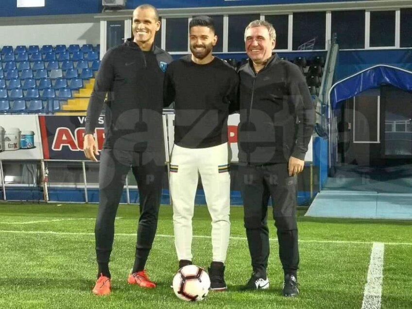 Rivaldo, în tricoul Viitorului