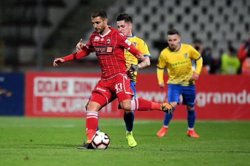 Mattia Montini are un contract valabil cu Dinamo până în vara lui 2020, dar Rednic a anunțat că nu va menaja niciun jucător când va decide restructurările din vară FOTO Raed Krishan