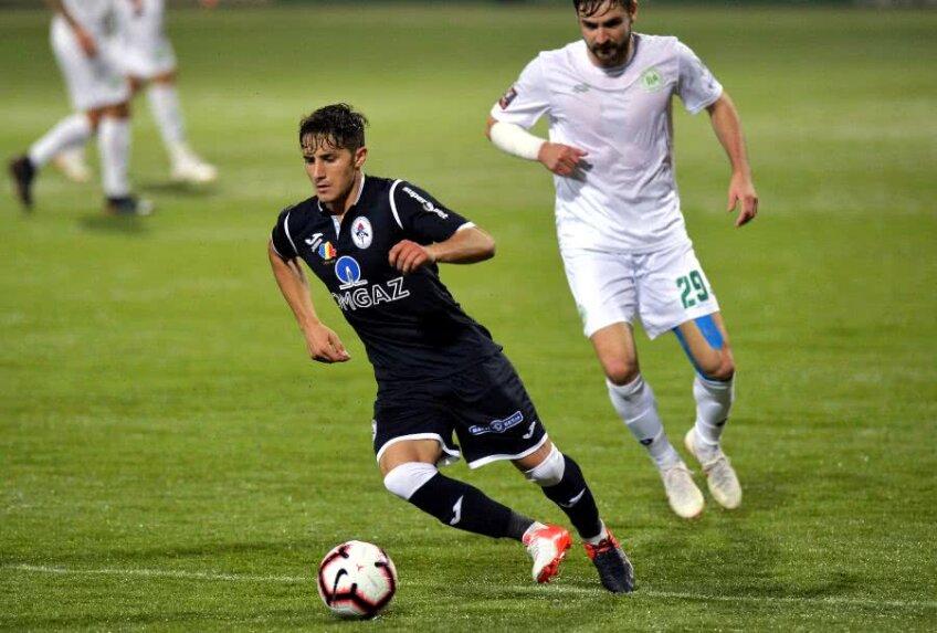 Ivanov a apărut în fotbal la Ludogoreț, însă n-a prins niciun meci pentru campioana Bulgariei. Jucase la Septemvri Sofia înainte să semneze cu Gaz Metan // FOTO Cristi Preda