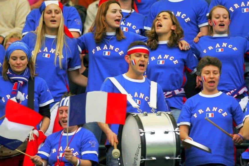 Francezii au fost mereu la înălțime la meciurile favoriților din tenis // FOTO: Guliver/Getty Images