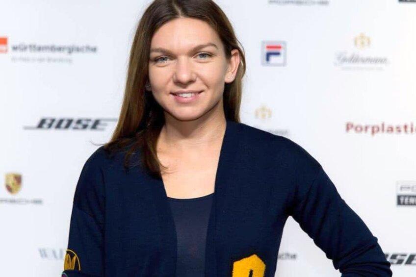 Simona Halep, azi la Stutgart // FOTO: Porsche Tennis Grand Prix Facebook