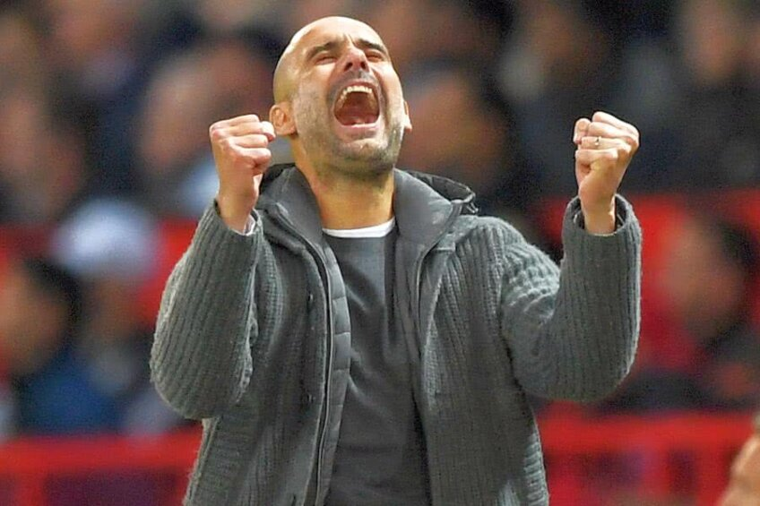 Pep Guardiola // FOTO: Guliver/GettyImages