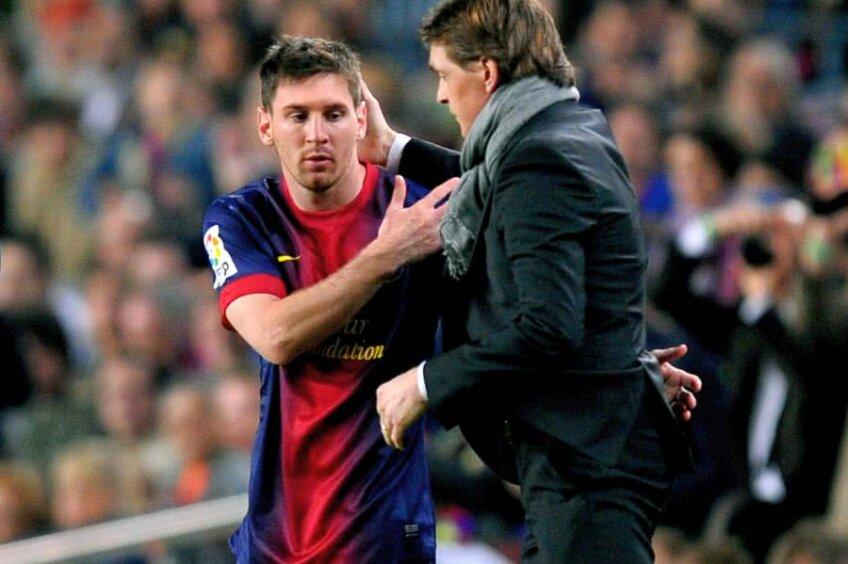 Messi și Tito Vilanova (foto: Guliver/Getty Images)