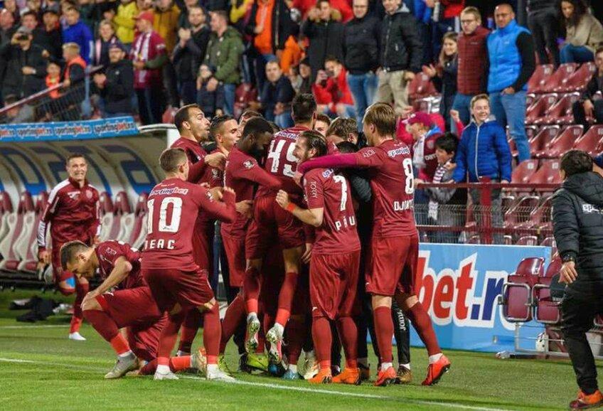 FOTO: Facebook @CFR Cluj