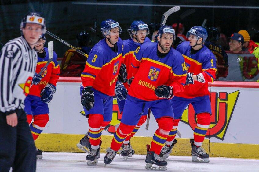 România a învins Polonia și e la două meciuri distanță de promovarea în Grupa A a Diviziei 1 Foto: IIHF