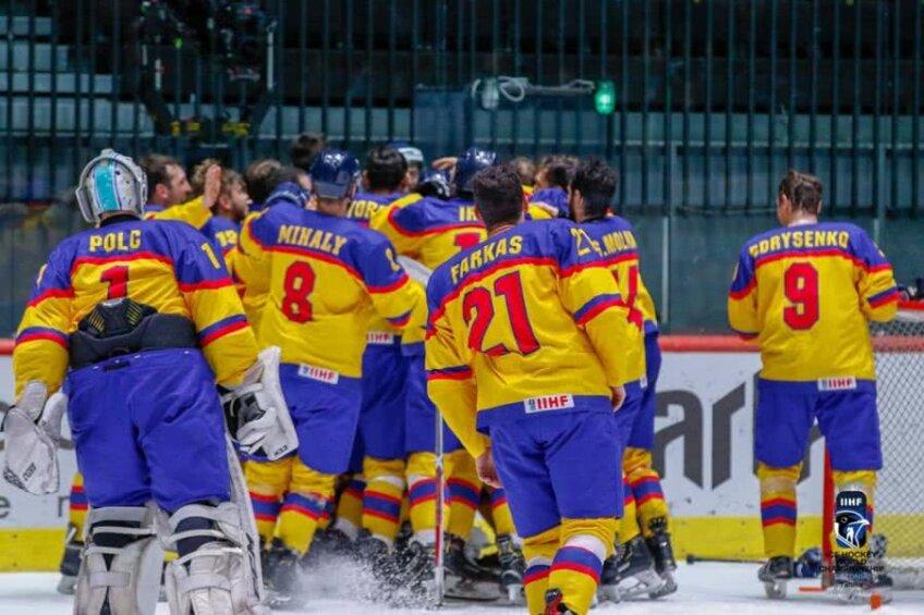 România a promovat în al doilea eșalon al hocheiului mondial Foto: IIHF