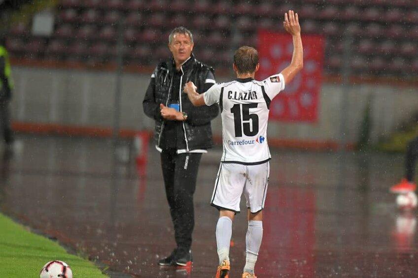 Costin Lazăr a evoluat 86 de minute în partida cu Dinamo / FOTO: Raed Krishan