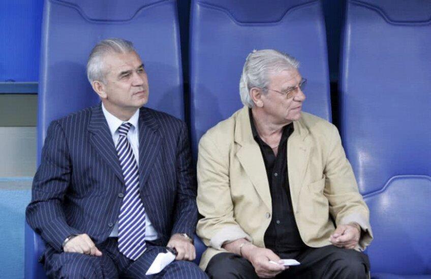 Anghel Iordănescu și Emerich Ienei
