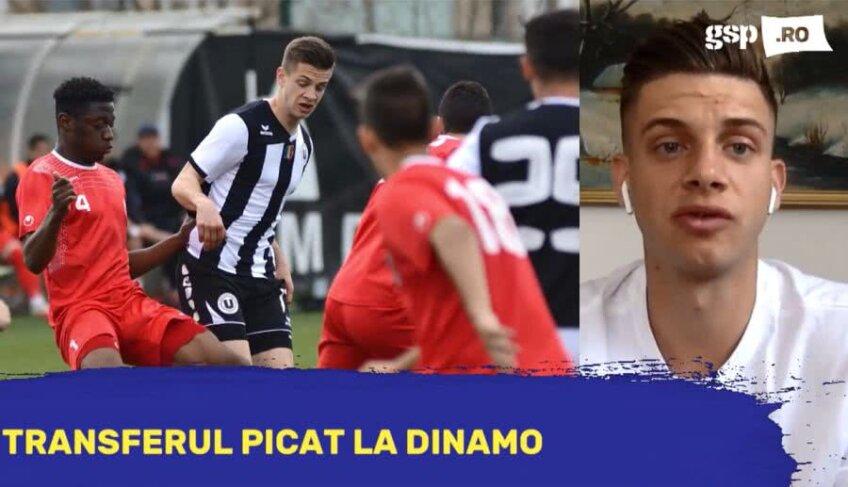 Mihai Butean a vorbit la GSP LIVE despre transferul picat la Dinamo