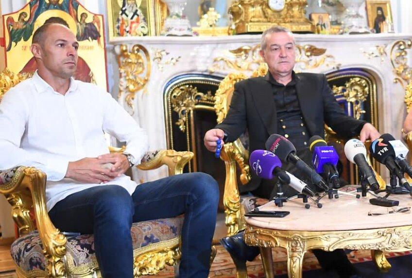 Gigi Becali și Bogdan Andone // FOTO: Raed Krishan