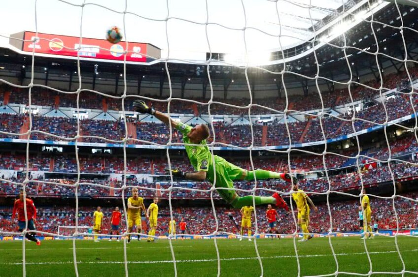 FOTO: Reuters // Spania - Suedia, preliminarii EURO 2020