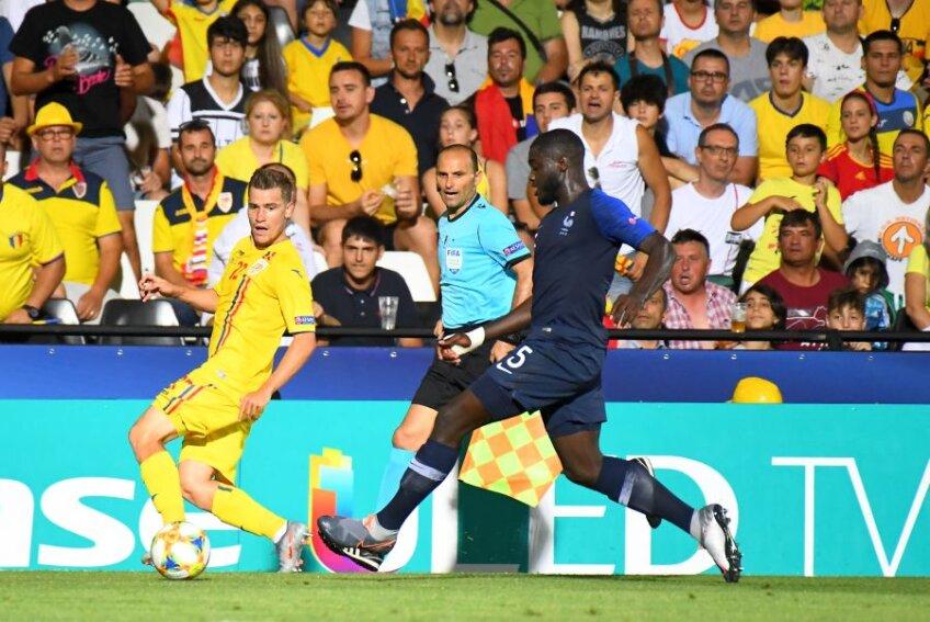 FRANȚA U21 - ROMÂNIA U21 0-0