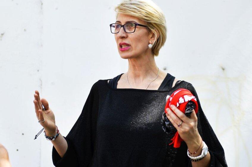 Monica Iagăr în 2017, în perioada în care era președinte la CS Dinamo // FOTO: Raed Krishan