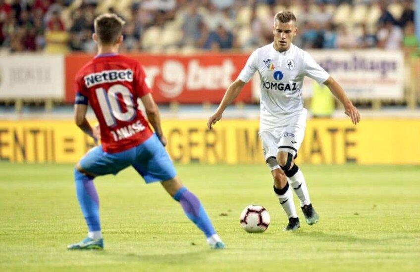 FCSB - Gaz Metan Mediaș // Darius Olaru vs Florin Tănase