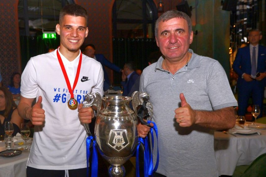 Gică Hagi are acum trei trofee alături de Viitorul