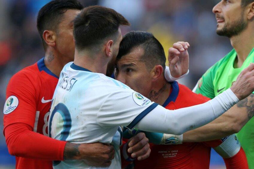 Lionel Messi, eliminat în Argentina - Chile la Copa America 2019 // FOTO: Guliver/GettyImages