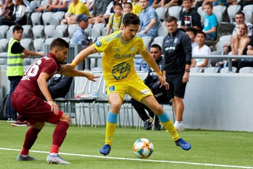 Astana - CFR 1-0 FOTO: fcastana.kz
