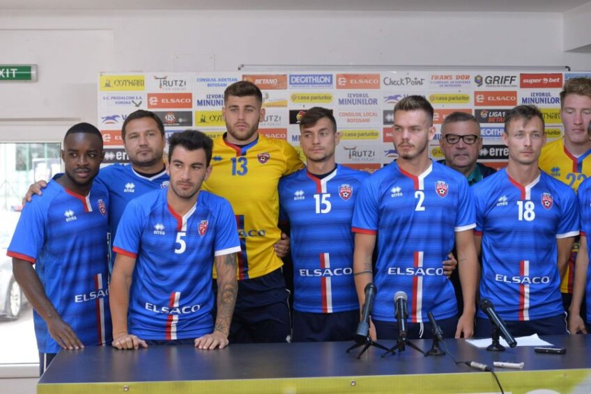 FC Botoșani și-a prezentat noile achiziții