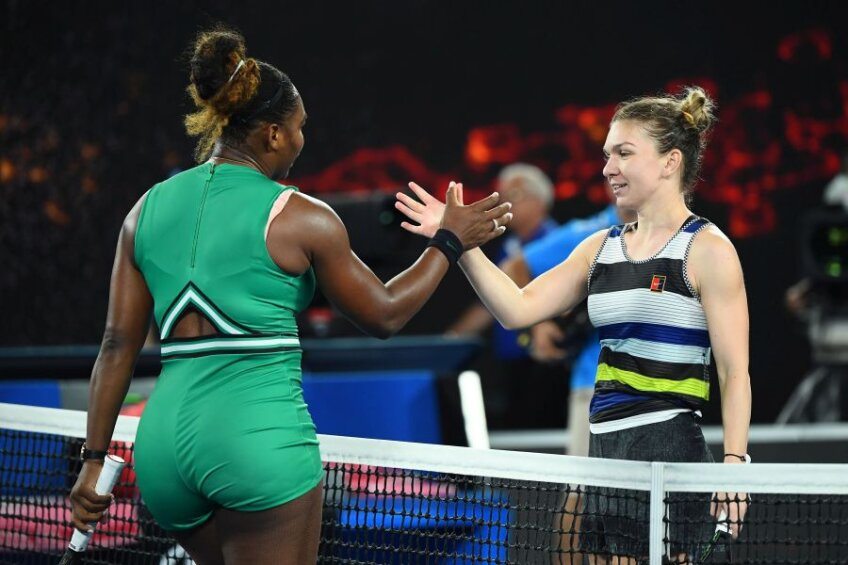 Simona Halep - Serena Williams // foto: Guliver/Getty Images