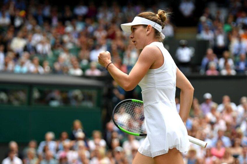 Simona Halep o va înfrunta pe Serena Williams în finala de la Wimbledon // foto: Guliver/Getty Images
