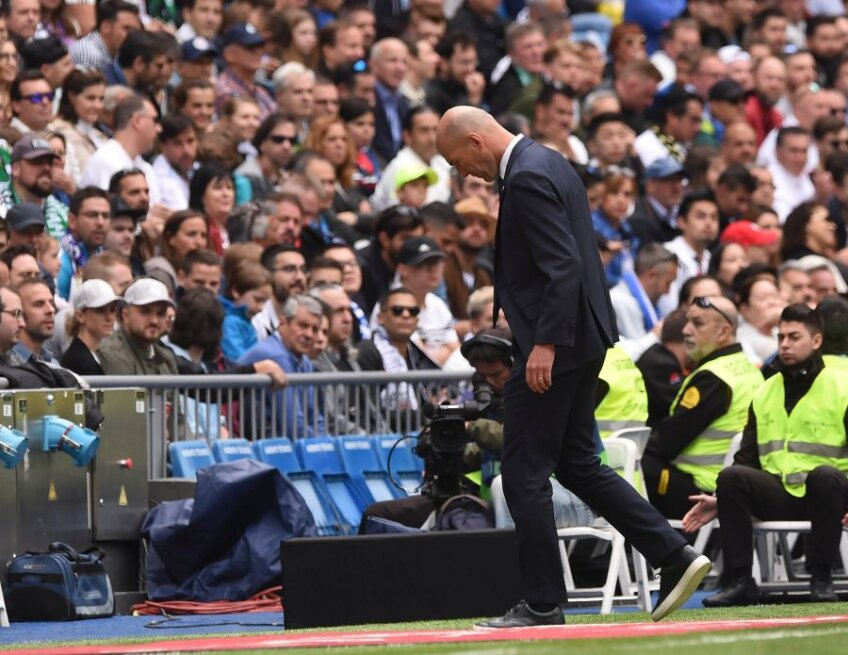 FOTO: GettyImages // Zinedine Zidane, Real Madrid