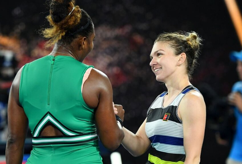 Simona Halep - Serena Williams // FOTO: Guliver/GettyImages