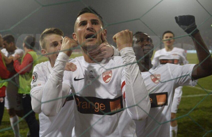 Dragos Grigore, pe vremea când juca la Dinamo